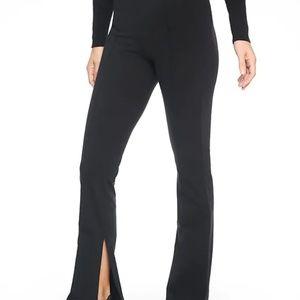 Athleta Greenwich Flare Pants size M Black